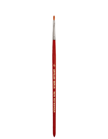Kryolan Excellence Flat Brush 4 03204-00