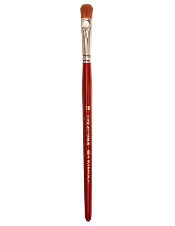 Kryolan EXCELLENCE FILBERT BRUSH 16 03316-00