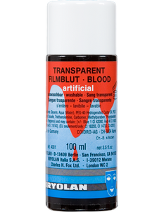Kryolan Transparent Blood 100ml 04001-00