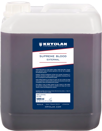 Kryolan Supreme Blood External 5000ML (Special O 04185-00