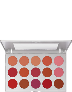 Kryolan Professional Blush Set 15 Cols. 05115-00