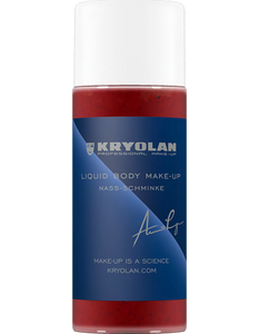 Kryolan Liquid Body M/U Metallic - 250ml 05132-00