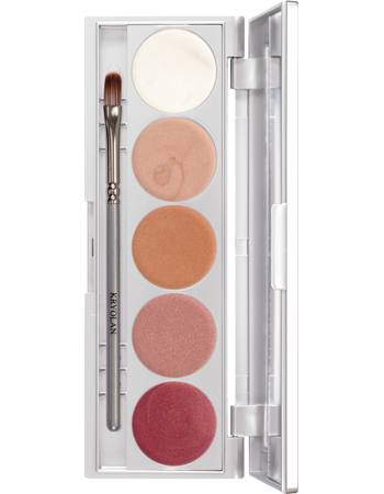 Kryolan Illusion 5 Colour Palette 05205-00
