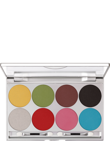Kryolan Prof.Eyeshadow  Set 8 colours 05308-00