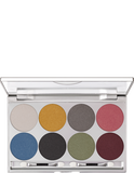 Kryolan Glitter Eyeshadow Set 8 Colours 05308-01