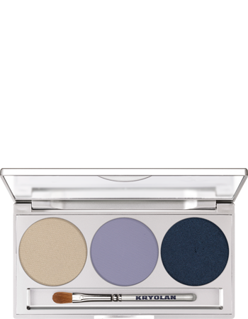 Kryolan Prof.Trio Eyeshadow Set 3 col. 05333-00_Smokey