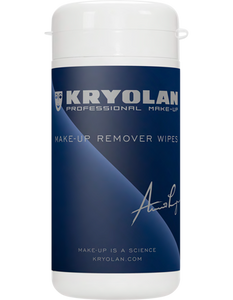 Kryolan MAKE UP REMOVER WIPES - 60 WIPES 05624-00
