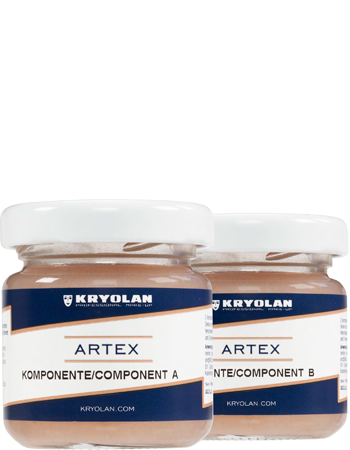 Kryolan Artex 2 Part Silicone 50ml 06560-00