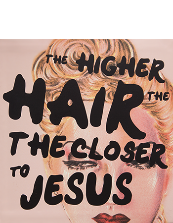 Kryolan HIGHER THE HAIR CLOSER TO JESUS 07056-00