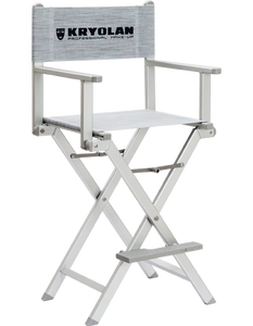 Kryolan ALUMINUM MAKE-UP CHAIR 07870-00