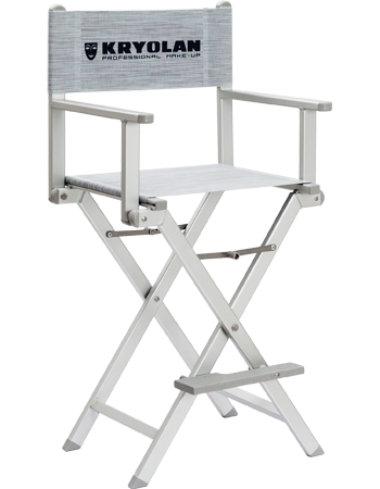 Kryolan KRYOLAN ALUMINUM MAKE-UP CHAIR 07870-00