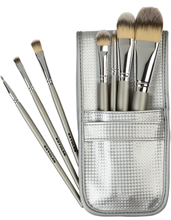 Kryolan Synth.Brush Set 7 Brushes 08314-00