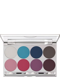 Kryolan Viva Brilliant Matt 8 Col Pal 09108-01