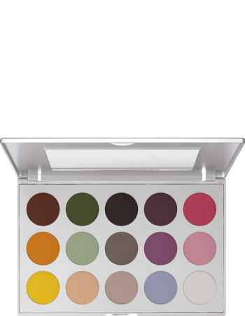 Kryolan Viva Brilliant 15 Colors Matt 09115-01