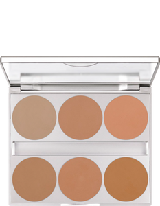 Kryolan Dual Finish Palette 6 Colours 09126-00