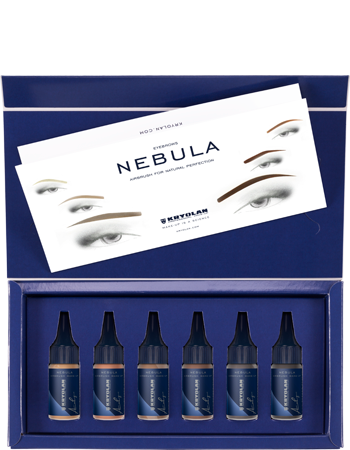 Kryolan Nebula Airbrush Eyebrows Set  09822-01