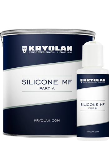 Kryolan Silikon MF 1000g(2 part set/A_B) 62701-00