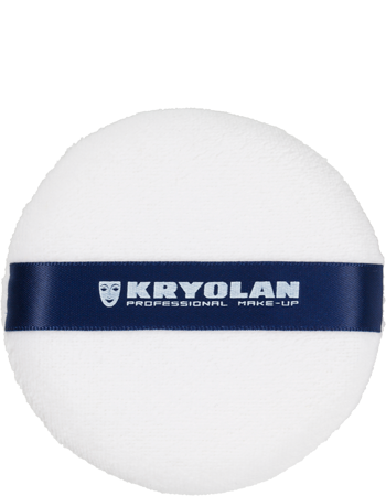 Kryolan Powder Puffs White 9CM 81722-00