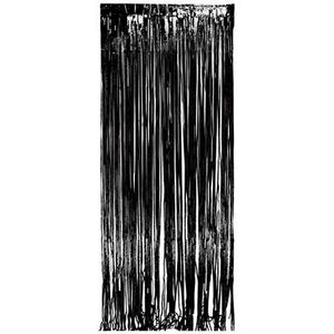 Backstage Shop - Black Shimmer Curtain