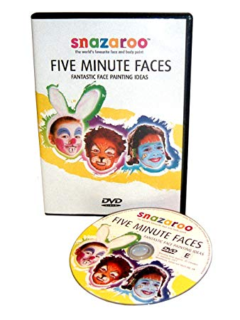 Snazaroo Five Minute Faces DVD