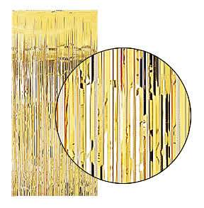 Backstage Shop - Gold Shimmer Curtain