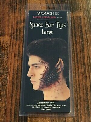 Woochie Latex Prosthetic Large Space Ear Tips
