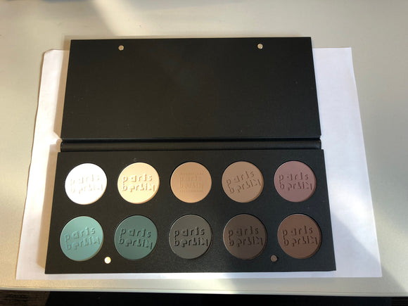 Paris Berlin Compact Eyeshadow 10 Colour Palette