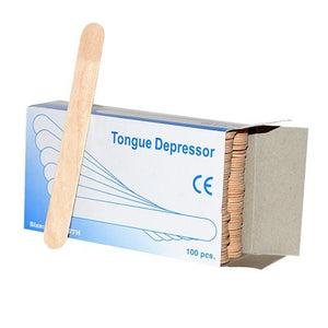 Wooden Tongue Depressor Adult 100Pcs
