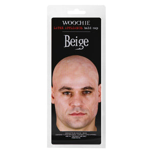 Woochie Latex Prosthetic Natural Bald Cap