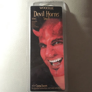 Woochie Latex Prosthetic Small Devil Horns