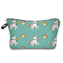Load image into Gallery viewer, So cute! Unicorn Cosmetic Clutches
