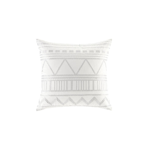 Ava Metallic Embroidered Decorative Pillow