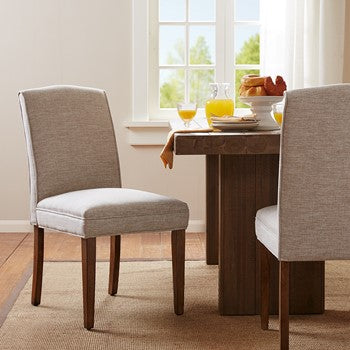 Camel Dining Chairs Set of 2