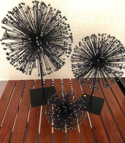 Firework Decor Set of 3