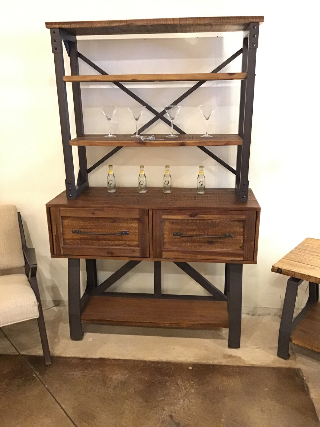 Marcus Sideboard and Hutch