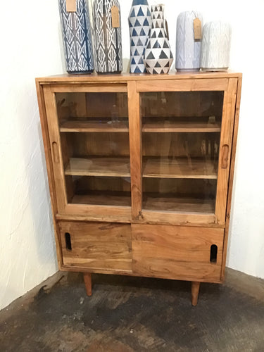 Bengal Natural Sliding Door Cabinet