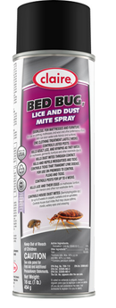 Bed Bug, Lice and Dust Mite Spray - 16 oz