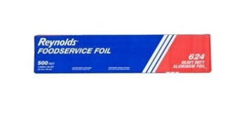 "Reynolds® Heavy-Duty Foodservice Aluminum Foil Roll - 18"" x 500'"