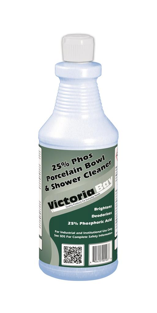 Victoria Bay 25% Phos Bathroom Cleaner - 32 oz