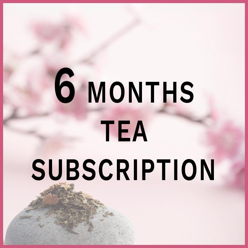6-Months Tea Subscription (pre-paid) - Thee