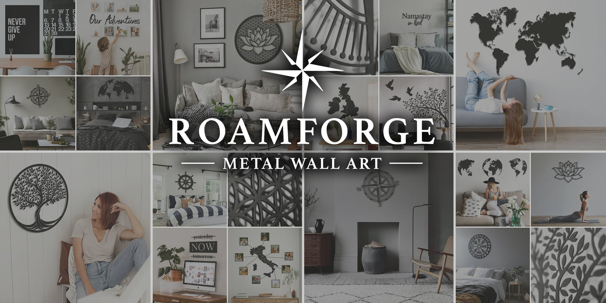 Roamforge Metal Wall Art