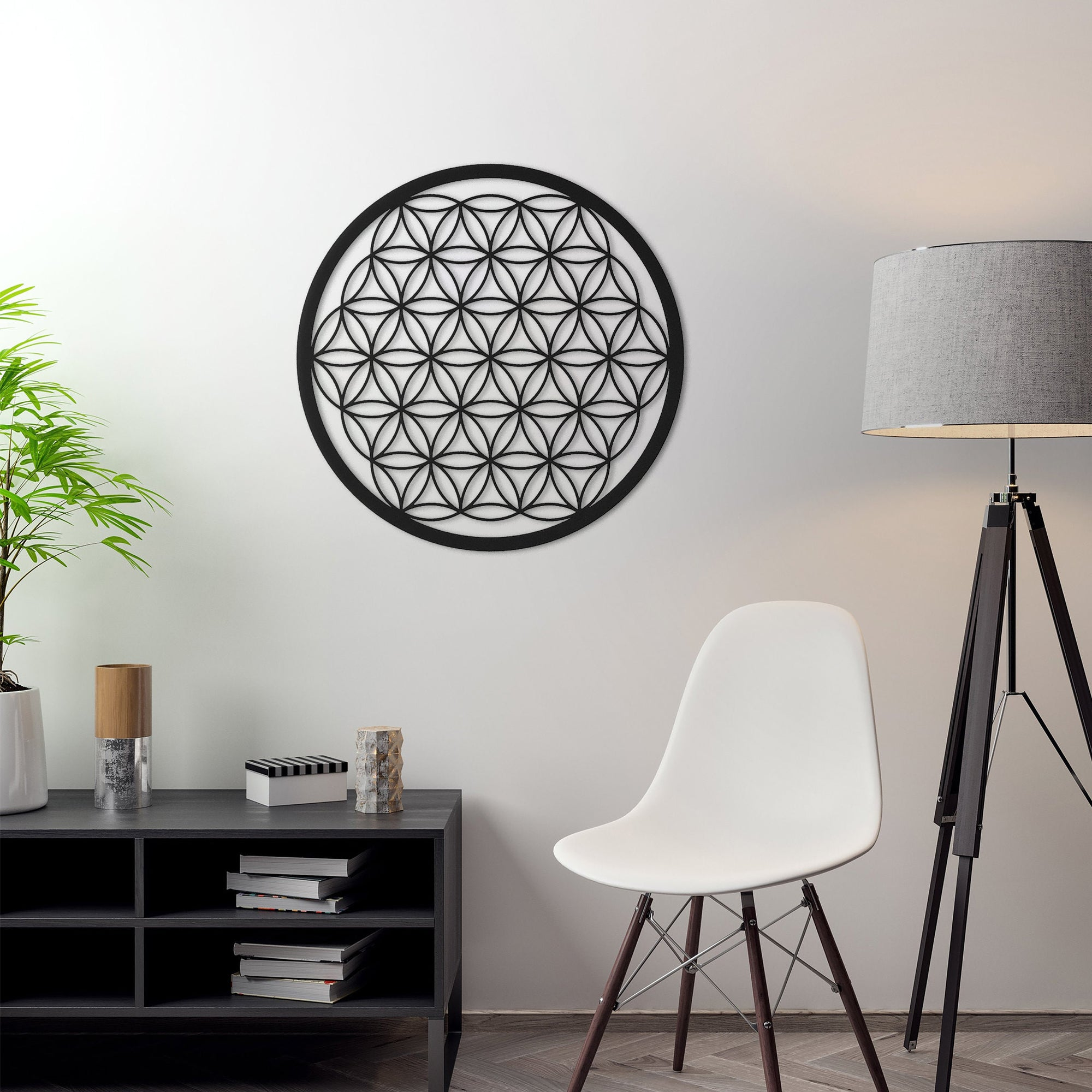 Flower of Life - Metal Wall Art