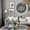 Lotus Flower of Life - Metal Wall Art