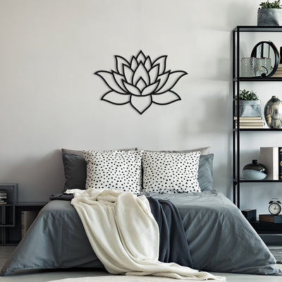 Lotus Flower - Metal Wall Art