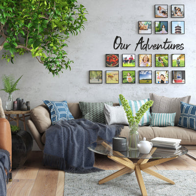 Our Adventures - Metal Wall Art