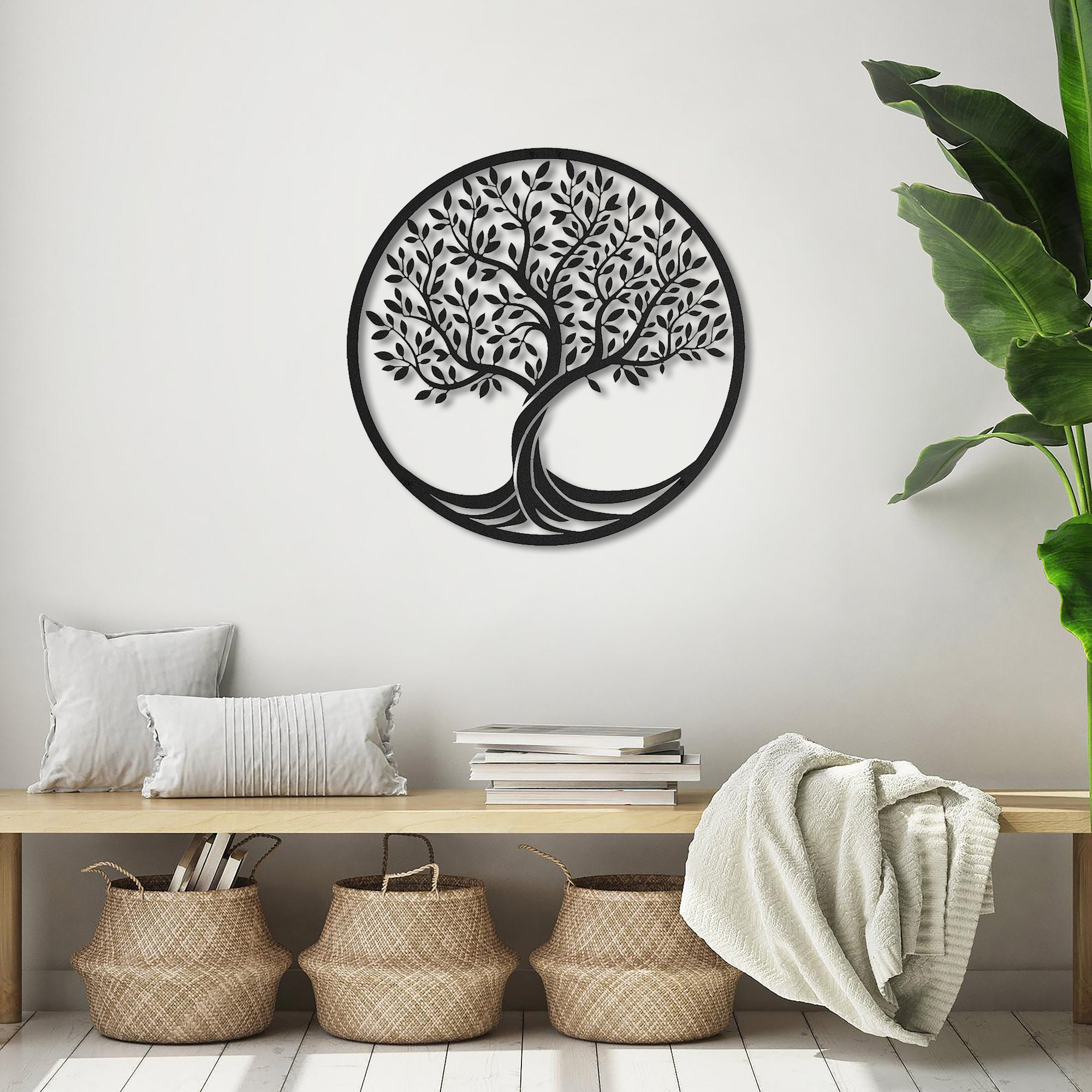 TREE OF LIFE - METAL WALL ART