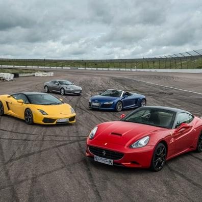 Free Raffle - Five Supercar Track Day