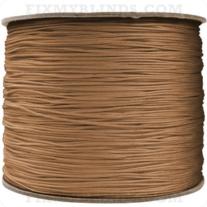1.4mm String - Medium Brown