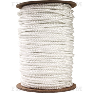 2.7mm Woven Wood Blind Cord - White