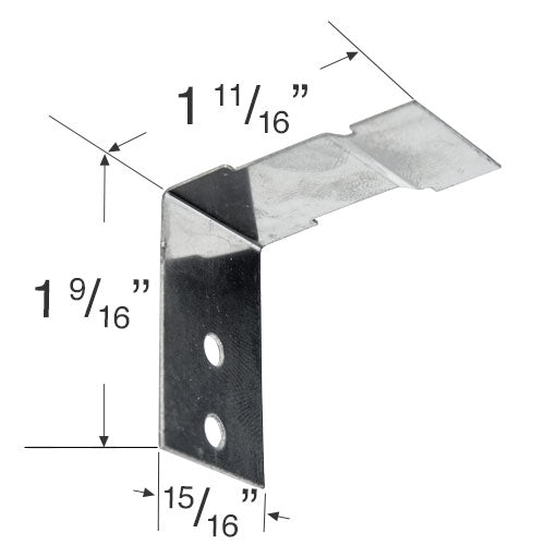 Hunter Douglas End Mount Bracket for 3/8